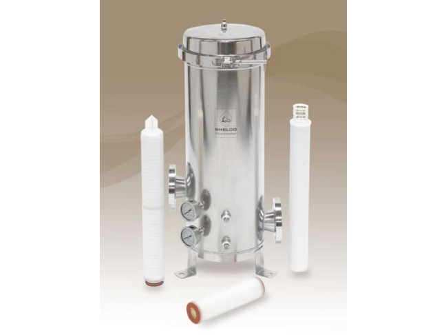 High Purity Multi-Cartridge Industrial Filter Housing
