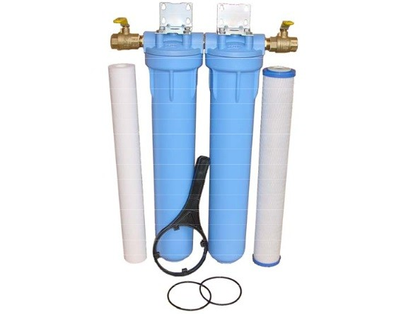 Residential House Water Filtration System