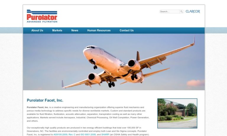 Purolator® Facet, Inc.
