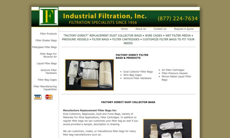 Industrial Filtration, Inc.