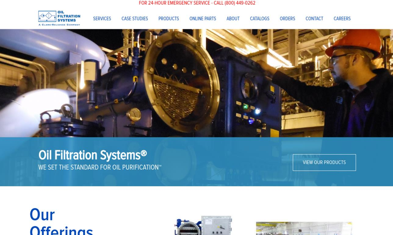 Oil Filtration Systems, Inc.