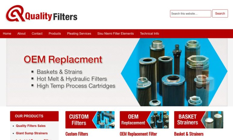 Quality Filters, Inc.
