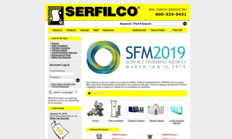 SERFILCO®, Ltd.